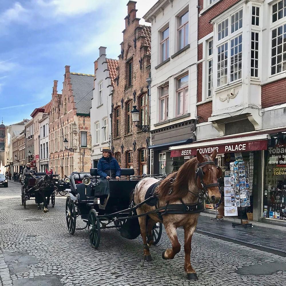 Calèches , Bruges