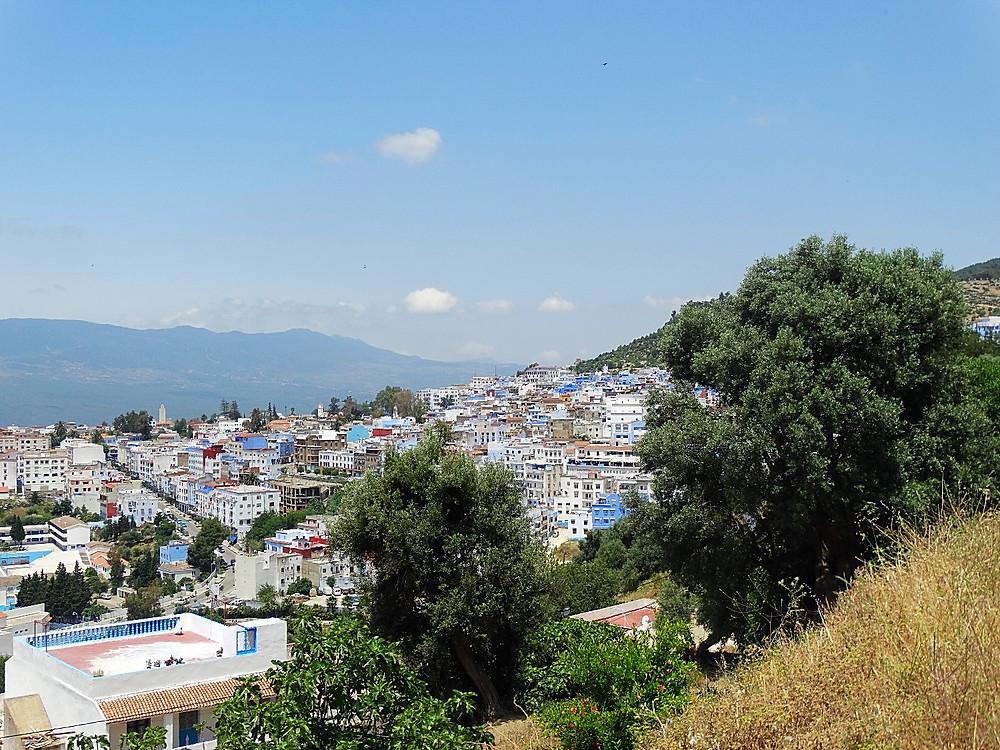 Road trip au Maroc, voyage de luxe en famille, Nouvelle ville de Chefchaouen, la perle bleue du Maroc