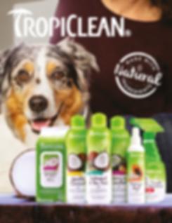 alimentação para animais, alimentação saudável animais, produtos naturais animais, Tropiclean