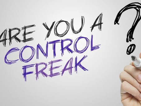 Are you suffering with Control issues ?