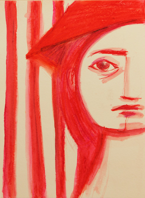 Riding hood first drawing