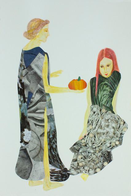 Darle Calabazas /  (Given Someone Pumpkins)
