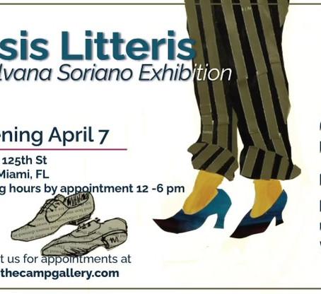 Ipsis Litteris exhibition
