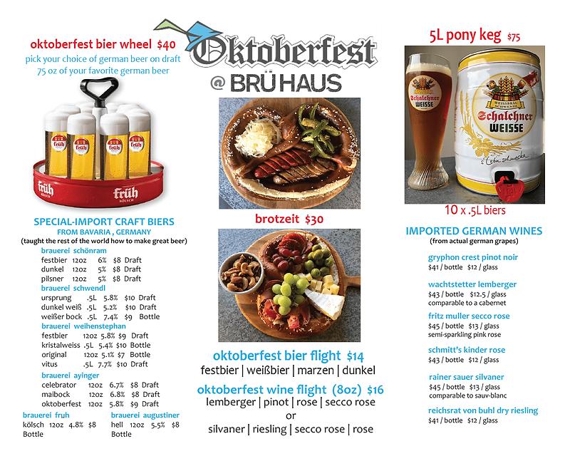 Oktoberfest 2018 @ BRÜ HAUS