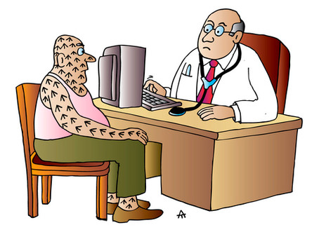 """Came for a """"check up"""" Doc!"""