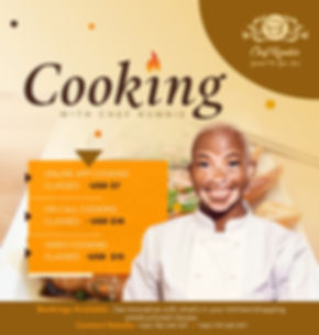 Chef Rumbi
