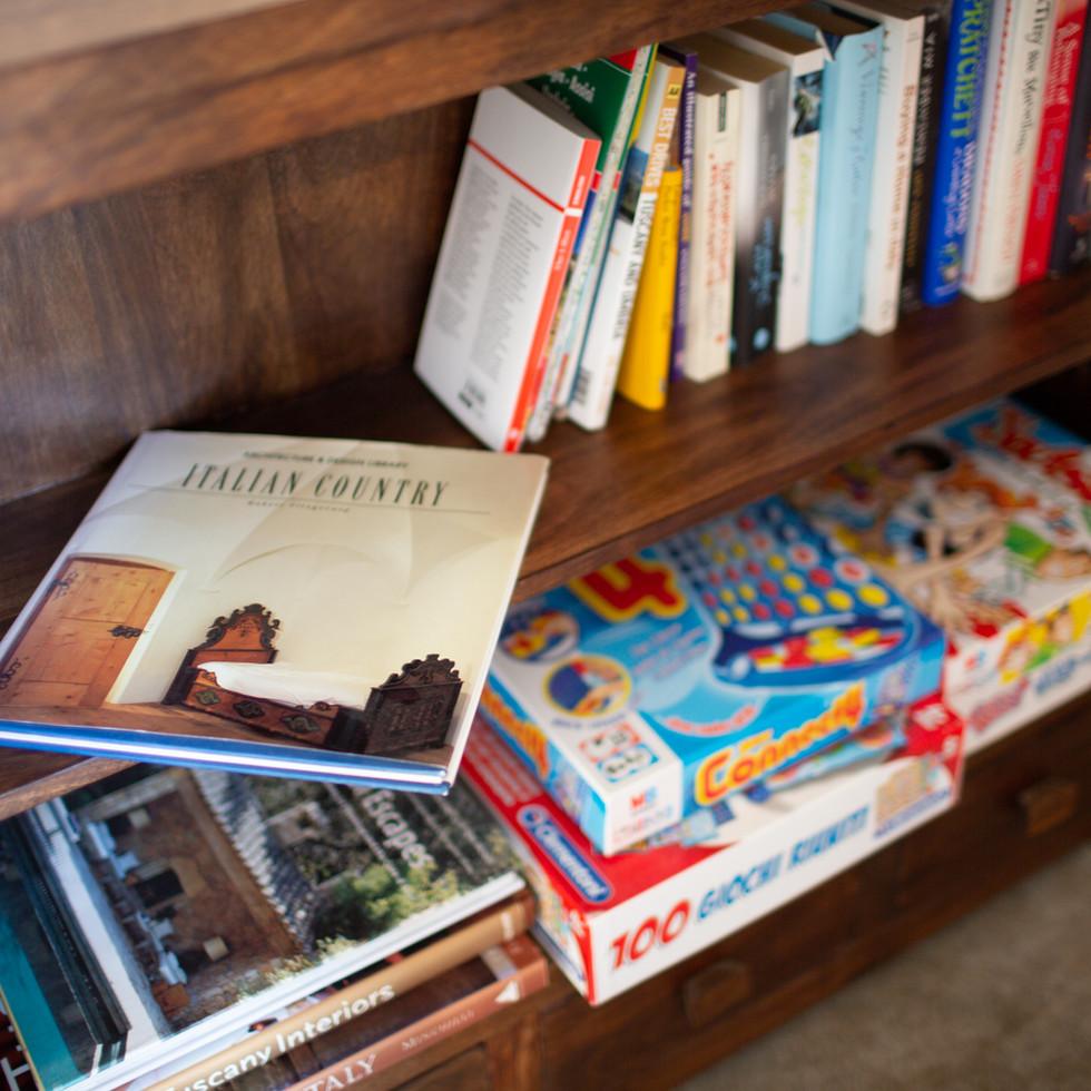 Books And Games At Casa Nestore