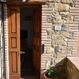 Door To A Casa Nestore Apartment