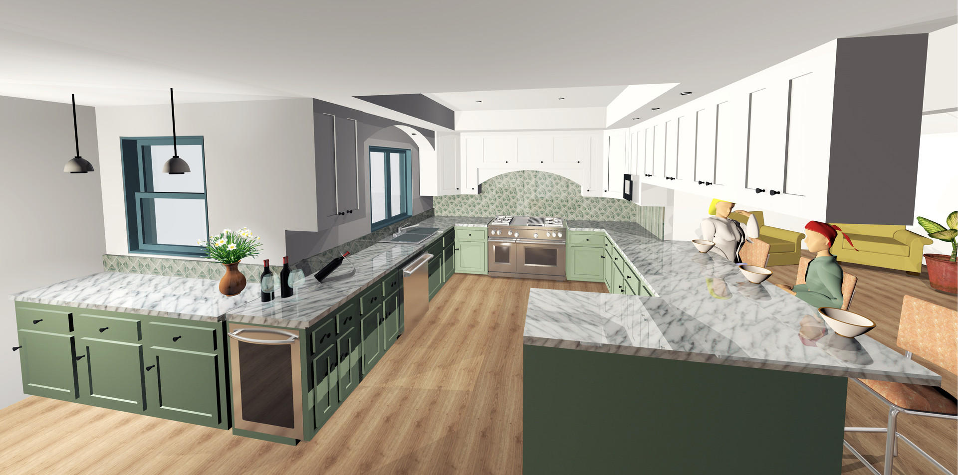 Single Family Residence Remodel, Los Angeles