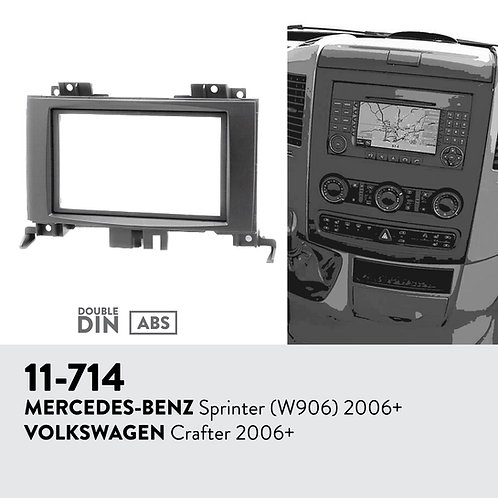 11-714 Compatible with MERCEDES-BENZ Sprinter (W906) 2006+ / VW Crafter 2006