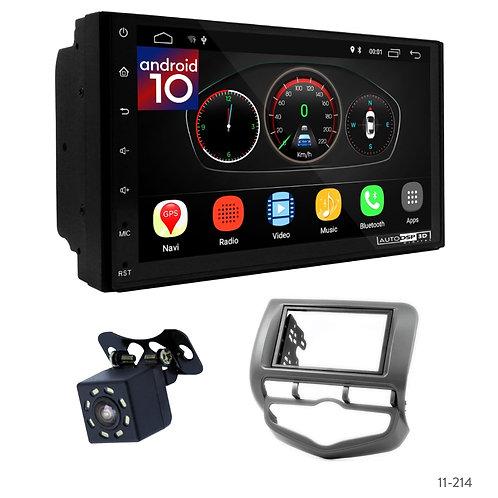 "7"" DSP Car Radio + Fascia Kit for Honda Fit, Jazz 02-08 (Right Wheel)"