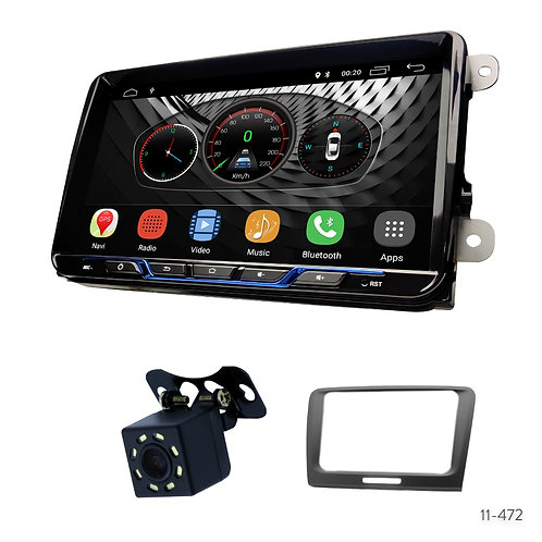 "VW-B 9"" Car Stereo Radio Plus 11-472 Fascia Kit for Skoda Superb 2008-2015"