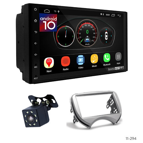 """7"""" DSP Car Radio+Fascia Kit Compatible with Nissan Micra, March(K13)/Renault Pul"""