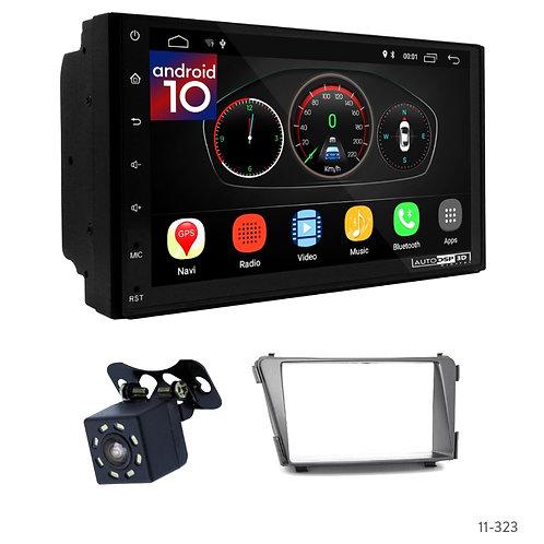 "7"" DSP Car Radio+Fascia Kit Compatible with Hyundai i-40 2011+"