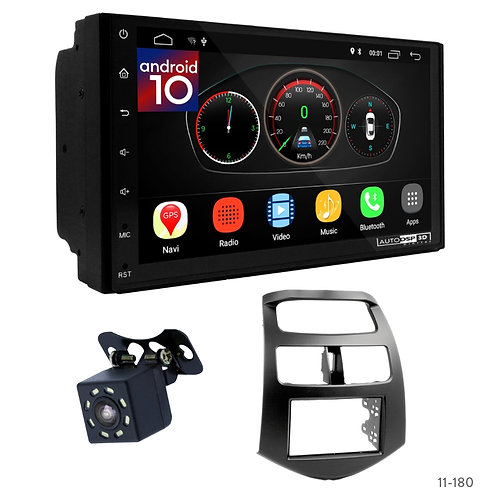 """7"""" DSP Car Radio+Fascia Kit Compatible with Chevrolet Spark (M300/Holden Barina"""