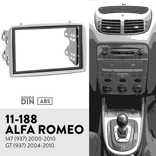 11-188 Compatible with ALFA ROMEO 147 (937) 2000-2010; GT (937) 2004-201