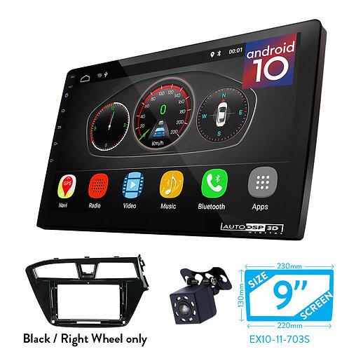 "9"" DSP Car Radio+Fascia Kit Compatible with HYUNDAI i-20 2014-2018"