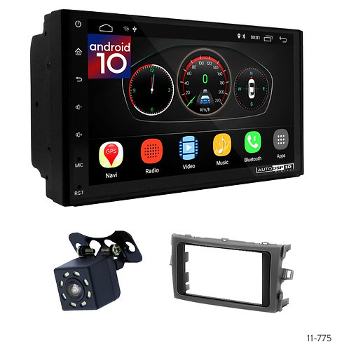 """7"""" DSP Car Radio+Fascia Kit Compatible with Toyota Verso 09-18"""