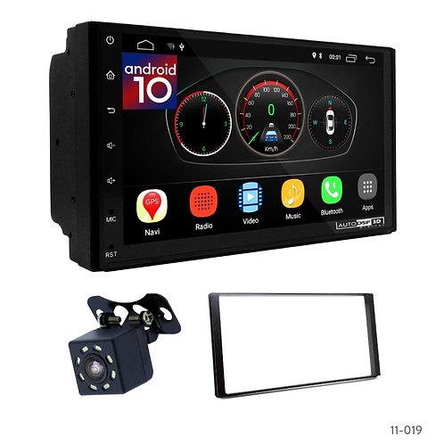 """7"""" DSP Car Radio+Fascia Kit Compatible with Hyundai Santa Fe 2006-2010"""