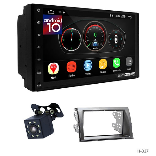 """7"""" DSP Car Radio+Fascia Kit Compatible with Toyota Isis"""