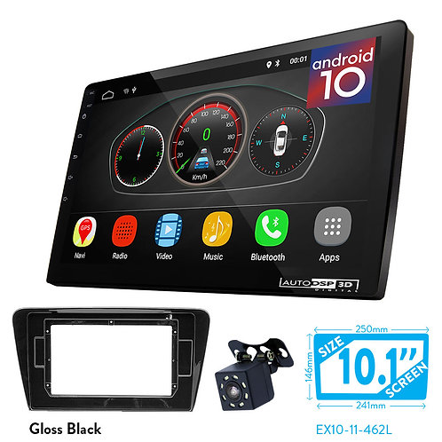 "10"" DSP Car Radio+Fascia Kit Compatible with SKODA Octavia 2013+"