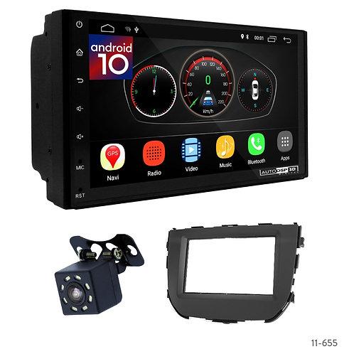 """7"""" DSP Car Radio+Fascia Kit Compatible with Suzuki Maruti Vitara Breeza"""