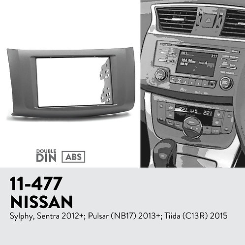 11-477 NISSAN Sylphy, Sentra 2012+; Pulsar (NB17) 2013+; Tii
