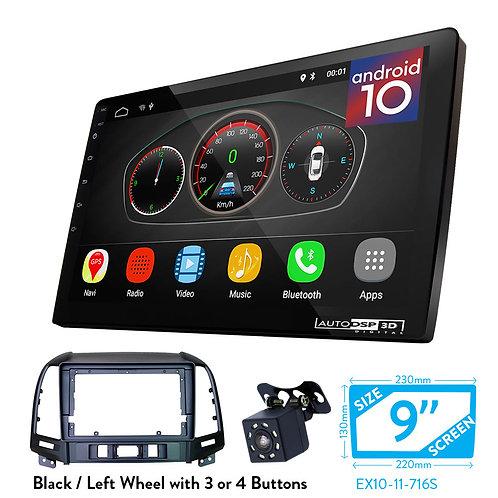 """9"""" DSP Car Radio+Fascia Kit Compatible with HYUNDAI Santa Fe 2006-2012"""