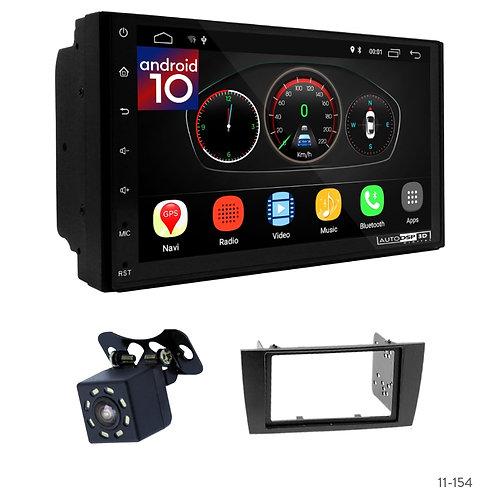 "7"" DSP Car Radio + Fascia Kit for Jaguar X-Type 02-08, S-Type 03-08"