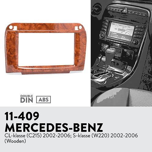 11-409 Compatible with MERCEDES-BENZ CL-klasse (C215) 2002-2006; S-klass