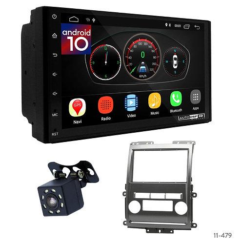 "7"" DSP Car Radio+Fascia Kit Compatible with Nissan Frontier, Xterra/Suzuki Equat"