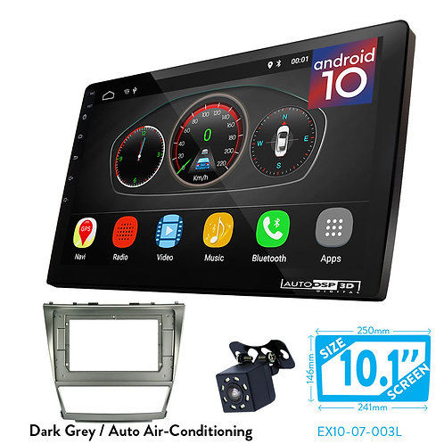 """10"""" Android 10 Car Stereo + Fascia Kit for TOYOTA Camry, Aurion / DAIHATSU Altis"""