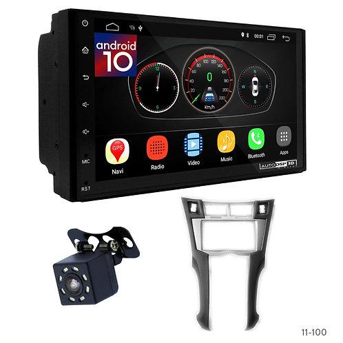 "7"" DSP Car Radio+Fascia Kit Compatible with Toyota Yaris,Vitz, Platz 05-10"
