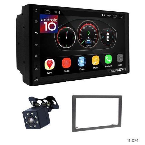 """7"""" DSP Car Radio + Fascia Kit for KIA Carens"""