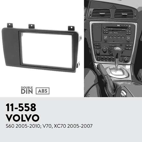 11-558 Compatible with VOLVO S60 2005-2010; V70, XC70 2005-2007