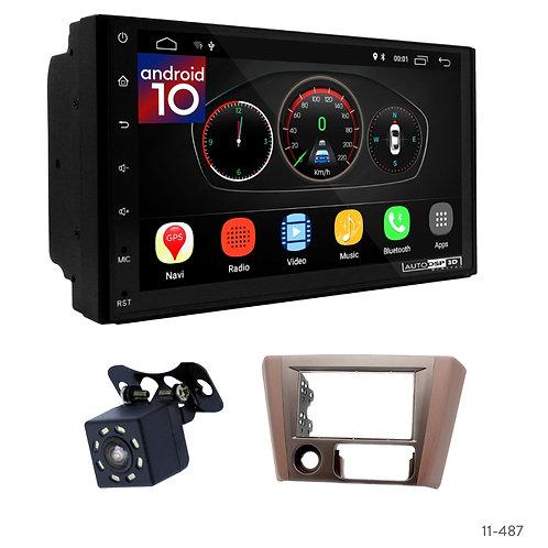 """7"""" DSP Car Radio+Fascia Kit Compatible with Mitsubishi Lancer IX 06-12"""