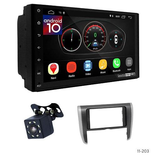 """7"""" DSP Car Radio + Fascia Kit for Toyota Allion (T260/265), Premio 07-16"""