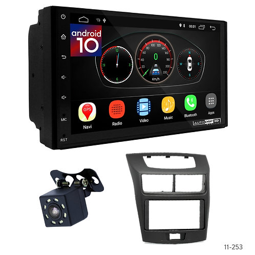 "7"" DSP Car Radio + Fascia Kit for Toyota Avanza, Veloz 12+ / Daihatsu Xenia 12+"