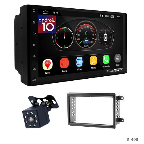 "7"" DSP Car Radio+Fascia Kit Compatible with Chevrolet Cobalt 11+; Spin, Onix 12+"