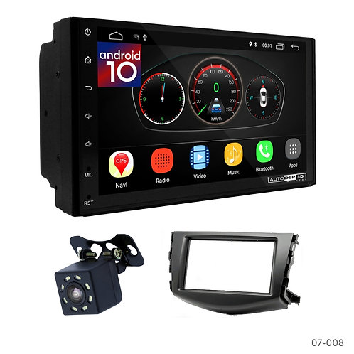 "7"" DSP Car Radio + Fascia Kit for Toyota RAV 4 06-12"