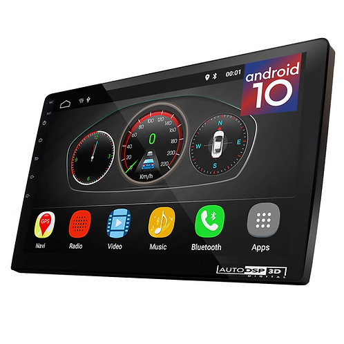 """UGAR 10"""" EX10-L-DSP Universal Extended Version 2GB 16GB Android 10 Headunit"""