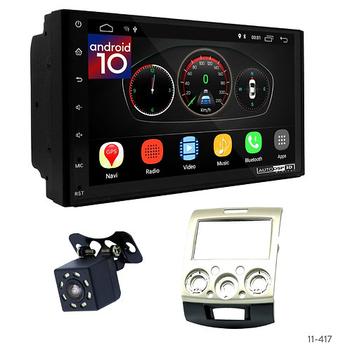 """7"""" DSP Car Radio+Fascia Kit Compatible with Mazda BT-50/Ford Ranger"""
