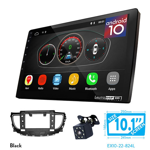 """10"""" DSP Car Radio+Fascia Kit Compatible with BUICK Lacrosse 2016+"""