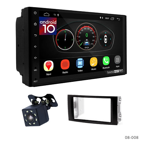 """7"""" DSP Car Radio+Fascia Kit Compatible with Volkswagen Touareg; T5"""