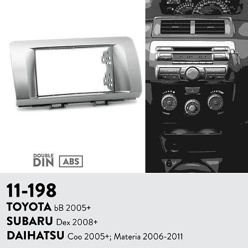 11-198 Compatible with TOYOTA bB 2005+ / SUBARU Dex 2008+ / DAIHATSU Coo