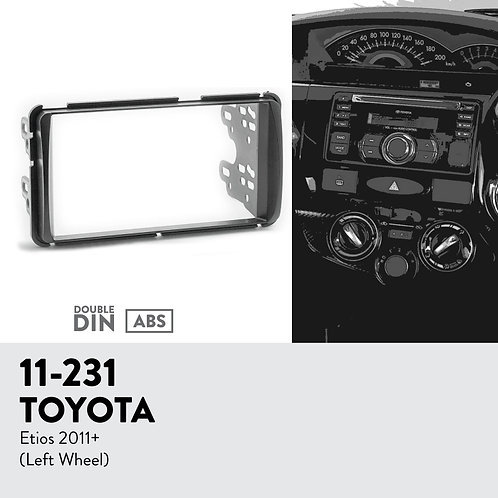 11-231 Compatible with TOYOTA Etios 2011+