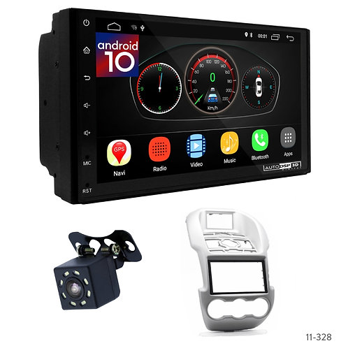 """7"""" DSP Car Radio+Fascia Kit Compatible with Ford Ranger 11-15"""