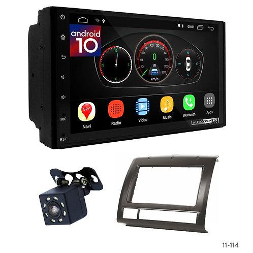 "7"" DSP Car Radio+Fascia Kit Compatible with Toyota Tacoma 05-15"