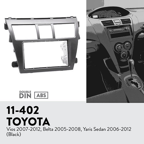 11-402 Compatible with TOYOTA Vios 2007-2012, Belta 2005-2008, Yaris Sed