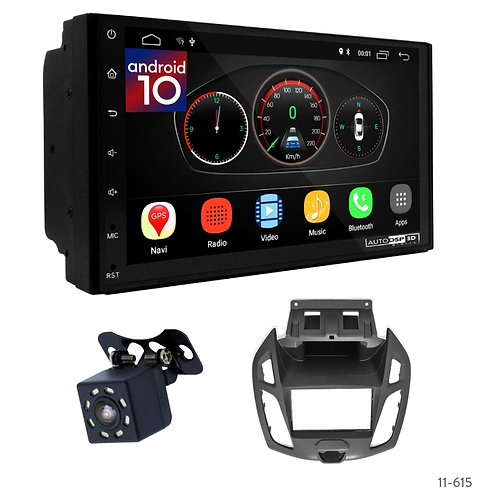 """7"""" DSP Car Radio+Fascia Kit Compatible with Ford Transit Connect, Tourneo Connec"""